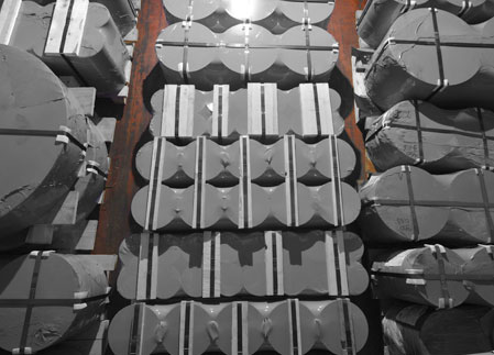 stoccaggio dischi acciaio